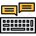 Keyboard Comment Message Icon