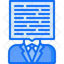 Comment Man Article Icon