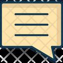 Comment Conversation Message Icon
