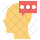 Personal Chat Thinking Comment Icon