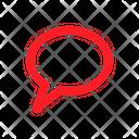 Comment Bubble Chat Icon