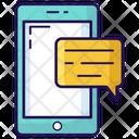 Comment Smartphone Communication Conversation Icon