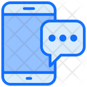 Comment Smartphone Mobile Icon