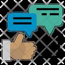 Comment Good Text Speech Seo Web Seo Web Icon