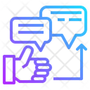 Seo Web Comment Icon