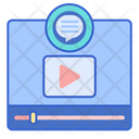 Comment On Video Feedback Review Icon