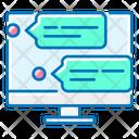 Comments Dialogue Forum Icon