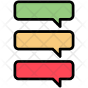 Comments Messages Milestones Icon