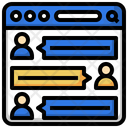 Comments Communications User Icon