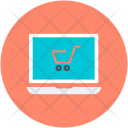Commerce Laptop Online Icon