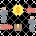 Commerce Buying Exchange Icon