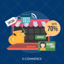 Commerce E Commerce Marketing Icon