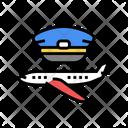 Commercial Aviation Flight Icon
