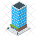 Office Building Architecture Skyscraper Icon