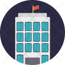 Commercial Building Arcade Icon