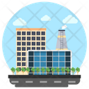 Commercial Building Business Center Trade Center Icon