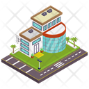 Office Building Commercial Building Architecture Icon