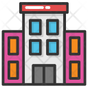 Building Apartments Blocks Icon