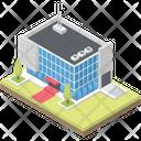 Commercial Business Center Building Commercial Centre Icon