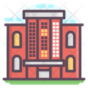 Residential Building Commercial House Villa Icon