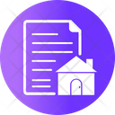 Commercial Papers Building Estate Icon