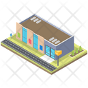 Commercial Shopping Center Icon