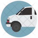 Commercial Vehicle Semi Truck Commercial Auto Icon