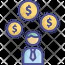 Bonus Commission Dividend Icon