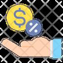 Commission Fee Income Icon
