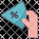 Commission Percentage Pie Icon