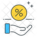 Commissions Profit Percentage Icon