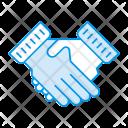 Commitment Partenership Shakehand Icon