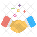 Partnership Business Deal Icon