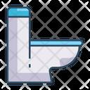 Commode Toilet Restroom Icon