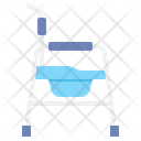 Commode Chair Icon