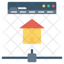 Communicate Home Internet Icon