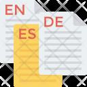 Communicate Language Speech Icon
