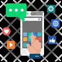 Communication Media Mobile Icon