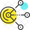 Communication Connection Link Icon