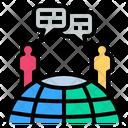 Communication Talk Society Icon