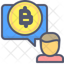 Bitcoin Chat Chat Bitcoin Icon