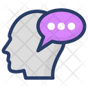 Person Communication Person Conversation Chatting Icon