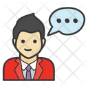 Communication Talking Discussion Icon