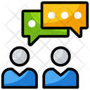 Communication Chatting Forum Discussion Icon