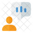 Communication Communicate Bar Graph Icon