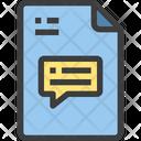 Message Communication Conversation Icon