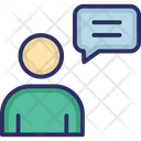 Communication Discussing Speech Bubble Icon
