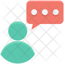 Communication Discussing Speech Icon