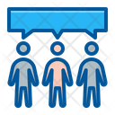 Communication Group People Icon