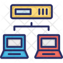 Communication Computer Networking Computershare Icon